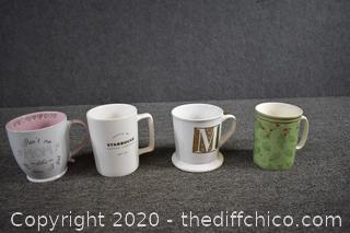 4 Coffee Mugs