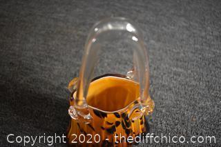 Purse Glass Vase
