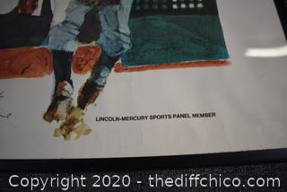 Framed Signed Print