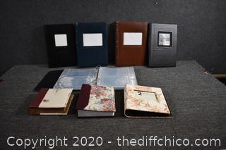 8 Photo Albums