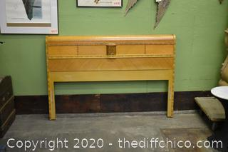 Vintage Waterfall Headboard and Footboard