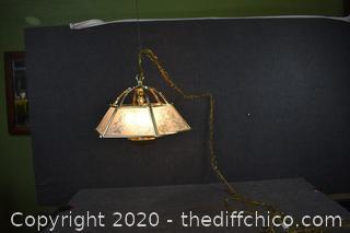 Working Hanging Light Fixture