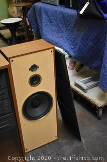 Working Sony Stereo System w/2 Speakers