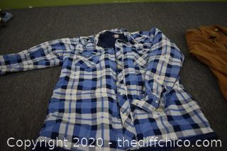 2 Men's Shirts Size XL