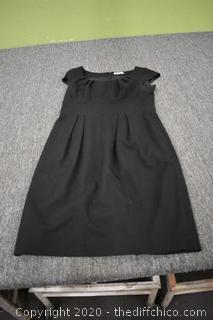 Calvin Klein Black Dress Size 8