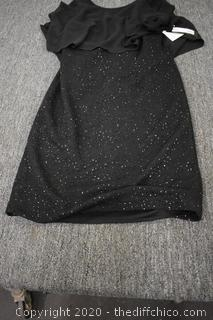 New Black Party Dress Size 8