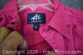 Pink Jacket - Size S