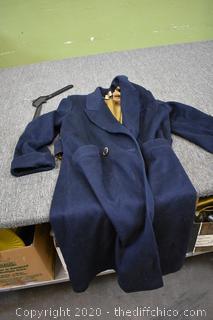 Ashley Scott Full Length Coat