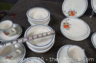38 Pieces of Mikasa Stoneware