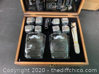 Atterstone Mustache Whiskey Box Set (J7)