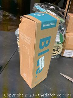 Winterial 40oz Stainless Steel Water Bottle - Blue (J15)