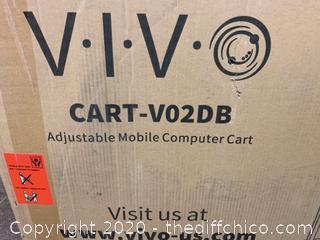 """Vivo Black 28"""" Mobile Computer Workstation (J20)"""