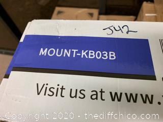 Vivo Black Under Desk Keyboard Tray (J42)