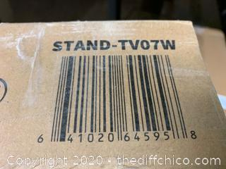 Vivo Black Mobile TV Cart (J44)