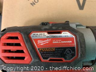 Milwaukee M18 18-Volt Lithium-Ion Cordless 1/2 in. Drill Driver (J58)