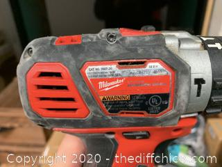 Milwaukee M18 18-Volt Lithium-Ion Cordless 1/2 in. Hammer Drill/Driver (J61)