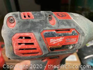 Milwaukee M18 18-Volt Lithium-Ion Cordless 1/4 in. Hex Impact Driver (J63)