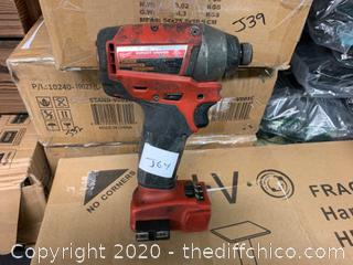 Milwaukee M18 FUEL 1/4in. Hex Impact Driver (J64)