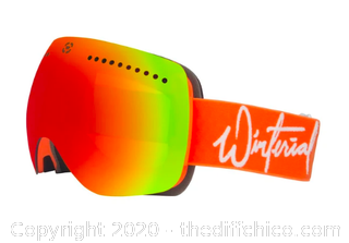 Winterial Ski and Snowboard Goggles with Quick Change Magnetic Lens (J73)