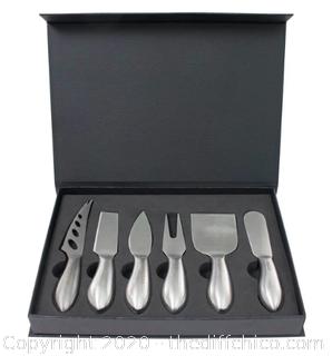 Zelancio Premium Stainless Steel Cheese Tool Set (J83)