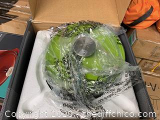 Zelancio  3 Quart Enameled Cast Iron Dutch Oven with Lid - Green (J93)