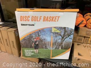 Driftsun Sports Portable Disk Golf Basket (J109)