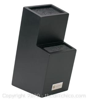 Zelancio Universal Knife Block - Block Only - Black (J121)