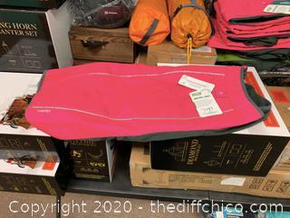 FrontPet Ultra Light Hard Shell Dog Jacket - Pink - X-Large (J137)