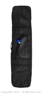 Winterial Snowboard Bag, Carrying Bag, Wheeled Snow Gear, Black (J144)