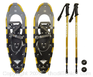 Winterial Highland 30-Inch Snowshoes, Gold (J145)