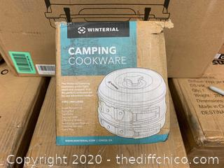 Winterial Camping Cookware and Pot Set (J150)
