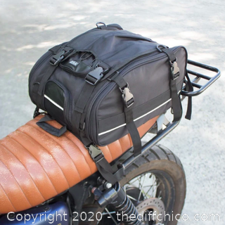 Vuz Moto Expandable Tail Bag (J151)