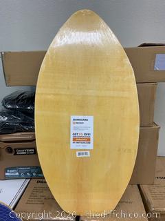 """Driftsun Sports 41"""" Deluxe Wooden Skimboard (J158)"""