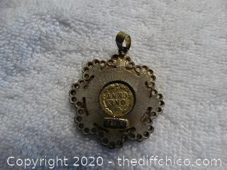 Coin Necklace Charm