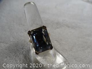 Ring With Stone size 8