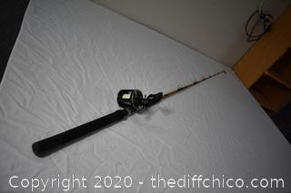 84in long Ugly Stik Fishing Pole and Penn Reel
