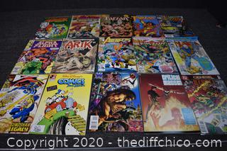 15 Collectible Comic Books