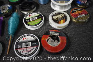 Lot of Fishing Line