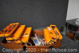 Fenwick Tackle Box plus Contents