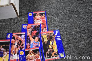 Box of Collectible Sports Cards