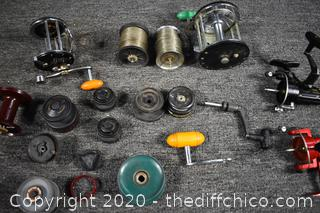 Reel Parts and Pieces