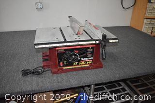 Working Tradesman 10in Table Saw