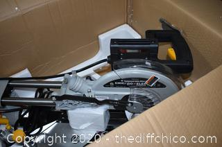 NIB Chicago Electric Miter Saw-missing 10in blade