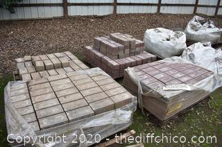 4 Pallets of Pavers