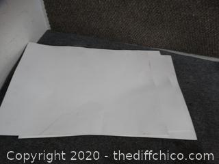 White Poster Board 6