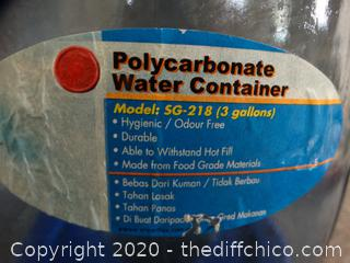 Polycarbonate Water Container