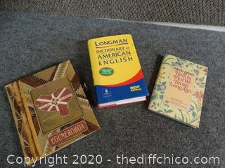 3 Books
