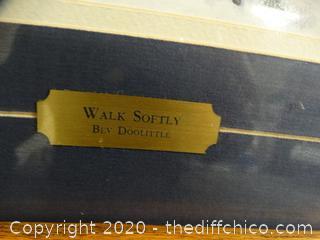 """Walk Softly "" By Bev Doolittle"
