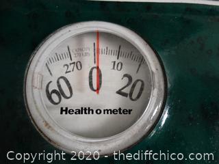 Health 0 Meter Scales