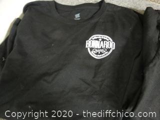 2 Bonnaroo T-Shirts lg & xl